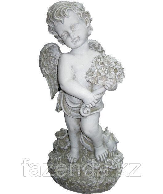 Статуэтка Ангел с букетом H-43см