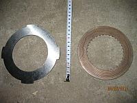Диск предохранительной муфты ЭЦУ-150 металлический