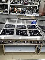 Шестиконфорочная Идукционная плита