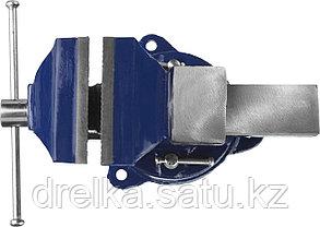 Тиски DEXX слесарные с поворотными механизмом, 100мм, фото 2