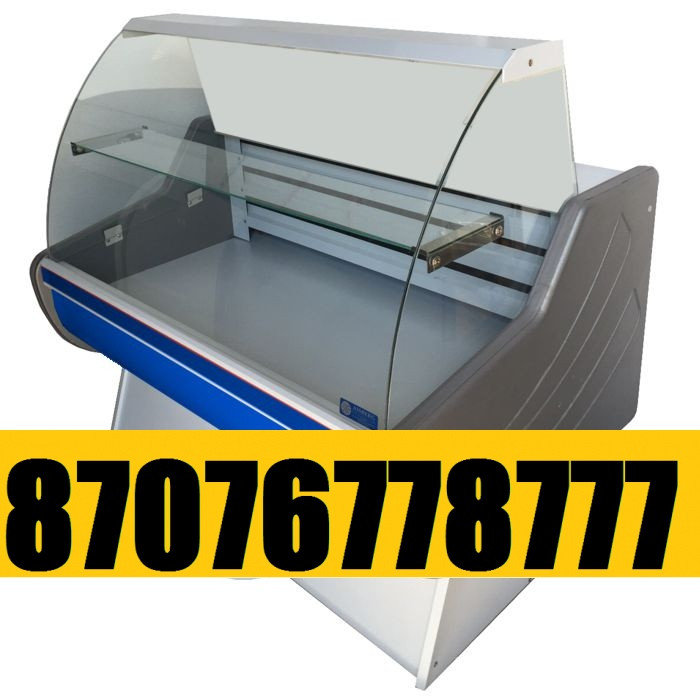 Витринный холодильник Холодильная витрина Эконом 1,3м 0 +5С
