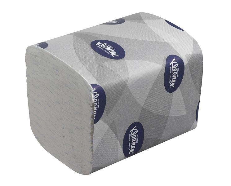 Листовая туалетная бумага в пачках Kleenex Ultra 8408