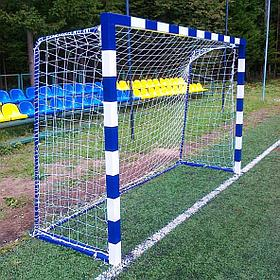 Ворота для мини футбола/гандбола (Профиль: 80*80) 3*2*1м