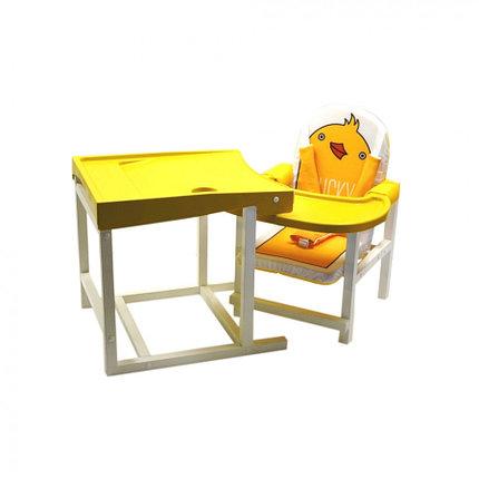Детский стул-стол для кормления Babys DUCKY желтый, фото 2