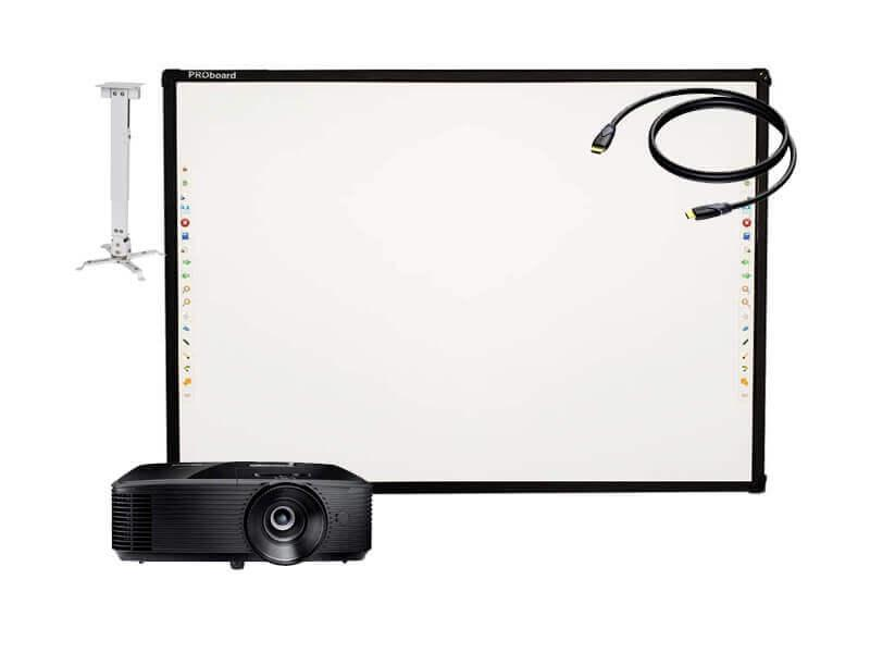 Интерактивный комплект PROboard S82 + Optoma S343e