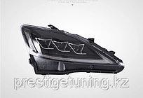 Передняя альтернативная оптика на Lexus IS 2006-12 дизайн LX