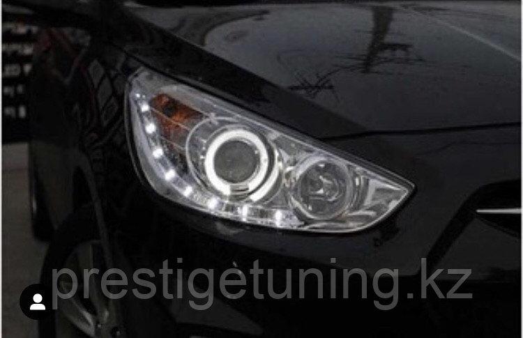 Передние фары Accent Sedan Hatchback 2011-13