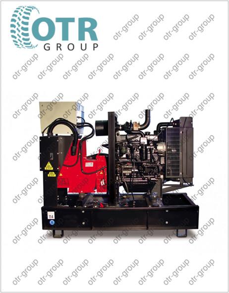 Запчасти на дизельный генератор Gesan DJA 200E