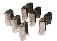 Пряжка проволочная 25мм для упаковочной ленты РЕТ/РР