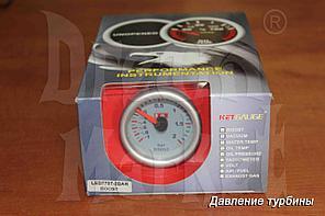 Датчик давления турбины KETGAUGE LED7707-3BAR, стрелочный, подсветка, диаметр 52 мм