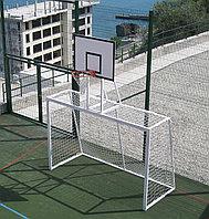 Ворота для минифутбола в комплекте со щитом