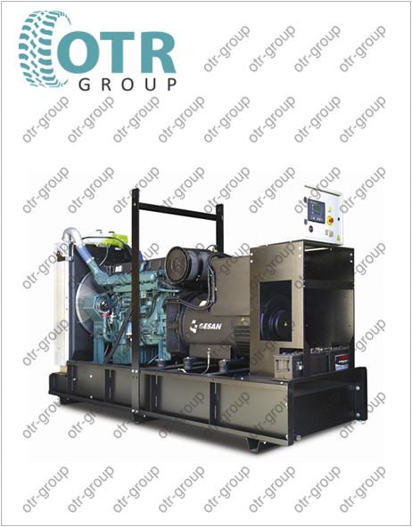 Запчасти на дизельный генератор Gesan DPA 230 E