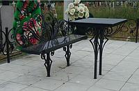 Столы и лавки на кладбище, фото 1