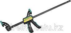 """Струбцина """"EcoKraft"""" ручная пистолетная, KRAFTOOL 32226-60, пластиковый корпус, 600/800мм, 150кгс, фото 2"""