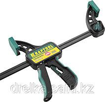 """Струбцина """"EcoKraft"""" ручная пистолетная, KRAFTOOL 32226-60, пластиковый корпус, 600/800мм, 150кгс, фото 3"""