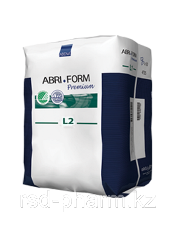 """Подгузники анатомические """"все в одном"""" Abena Abri-Form Premium, 10 шт в уп, размер L2"""
