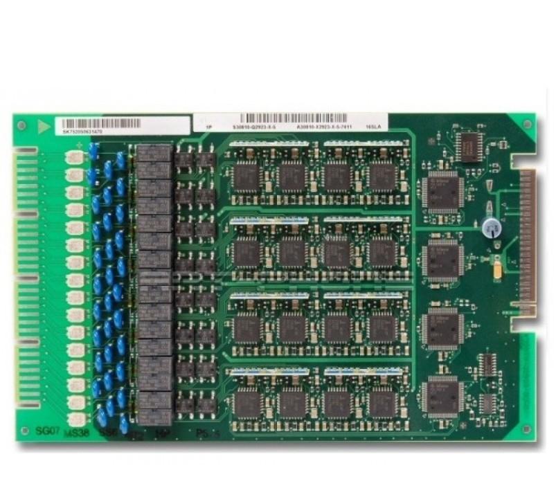 16 SLA Аналоговый абонентский модуль 16 a/b для X3W/X5W HiPath 3350/3550 L30251-C600-A311