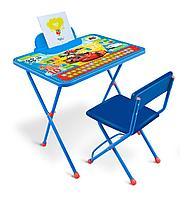 Набор детской мебели стол и стул Ника Тачки Д1П/Т