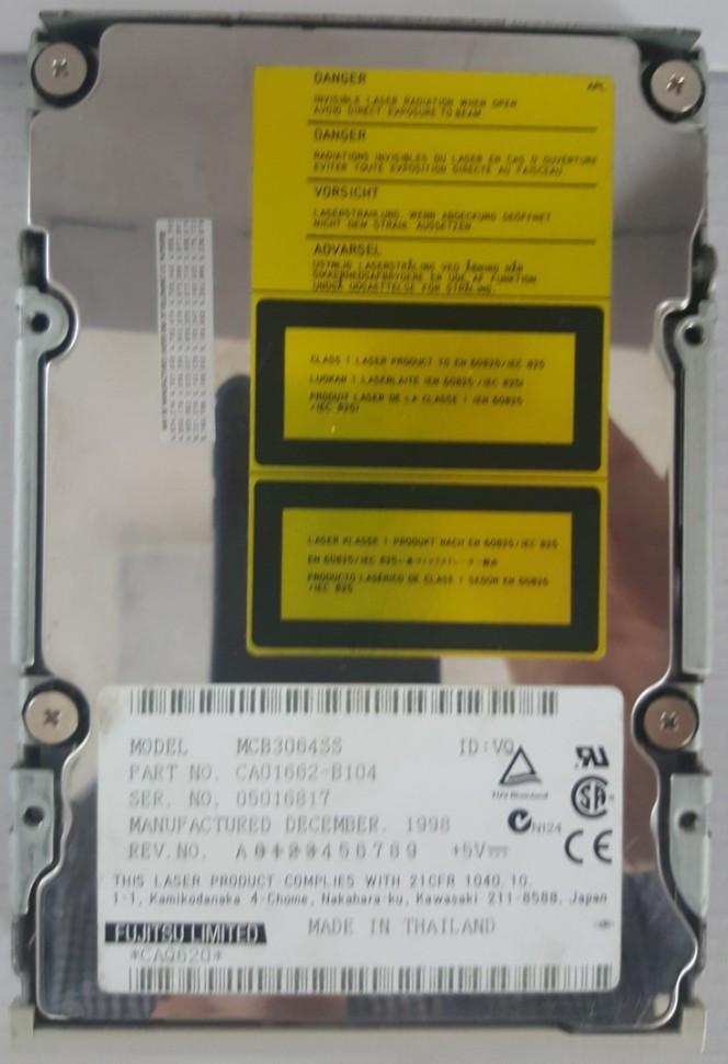 Fujitsu 640 MB MCF3064SS магнито-оптический дисковод