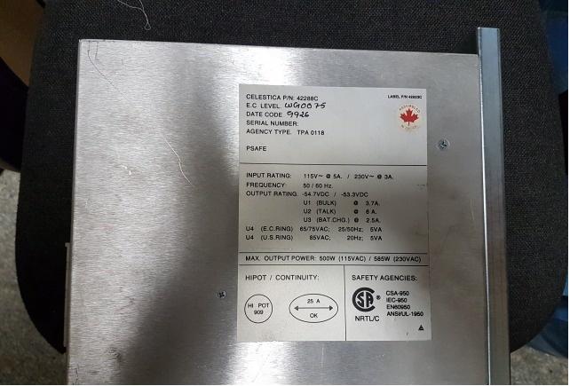 Блок питания PSUP для Hicom 300/S30124-X5096-X