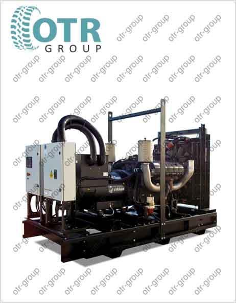 Запчасти на дизельный генератор Gesan DTA 300E