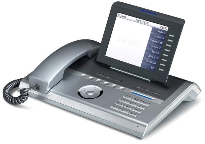 Телефон OpenStage 80G HFA silver blue L30250-F600-C119