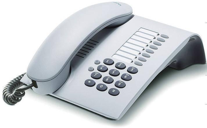 Телефон OpenStage 5 SIP ice blue L30250-F600-C194