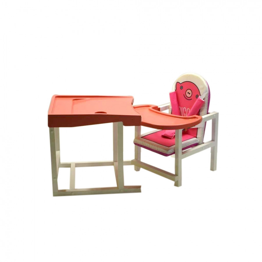Детский стул-стол для кормления Babys Piggy Розовый