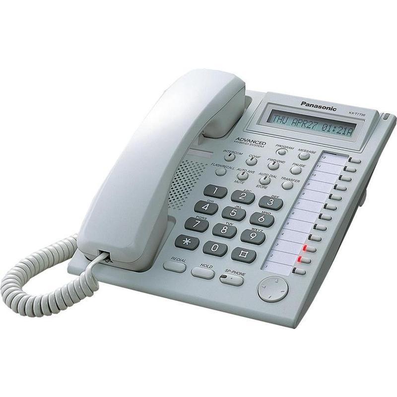 Аналоговый системный телефон Panasonic KX-T7730RU