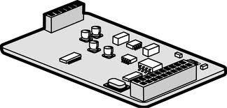 Плата модема (33,6 Кбит/с) для дистанционного администрирования системы