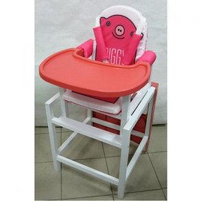 Детский стул-стол для кормления Babys Piggy Розовый, фото 2
