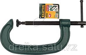 EXTREM EG-10 струбцина тип G 100 мм, KRAFTOOL, фото 2