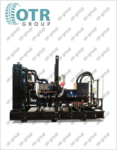 Запчасти на дизельный генератор Gesan DTA 330 E