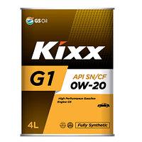 Моторное масло Kixx G1 0W-20   4литрa
