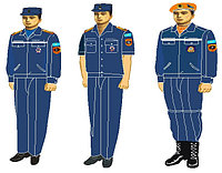 Пошив форма для сотрудников ЧС