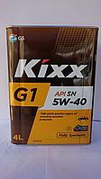 Моторное масло Kixx G1 5W-40  4литра