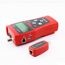 Многофункциональный кабельный LAN тестер NF-308 (RJ11+RJ45, USB, COAX, WIREMAP)+тон генератор+датчик, фото 3