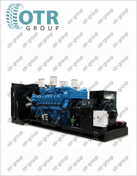 Запчасти на дизельный генератор Gesan DTA 550E