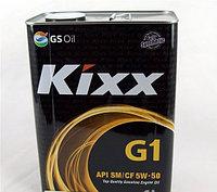 Моторное масло Kixx G1 SN/CF 5W-50 4литрa