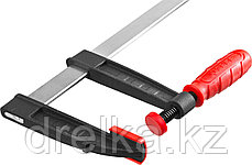 """Струбцина ЗУБР """"МАСТЕР"""", тип """"F"""", пластмассовая ручка, стальная закаленная рейка, 120х1000мм , фото 2"""