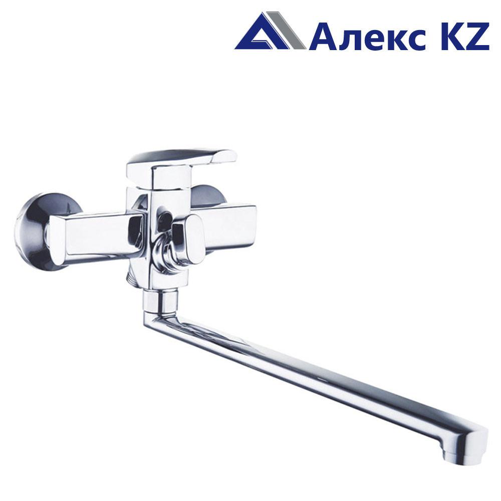 Смеситель для ванны, одноручный, с поворотным изливом ZEGOR  NOF7-A033