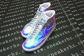 Зеркальные кроссовки Nike  Blazer Mid в Алматы, фото 3