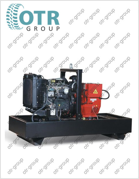 Запчасти на дизельный генератор Gesan DPA 800E
