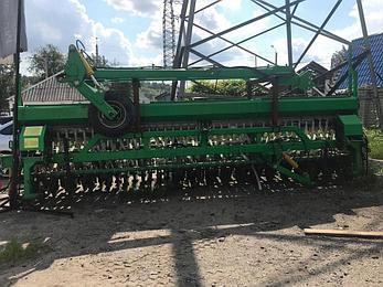 Зерновая механическая сеялка СЗМ-6 прицепная, фото 2