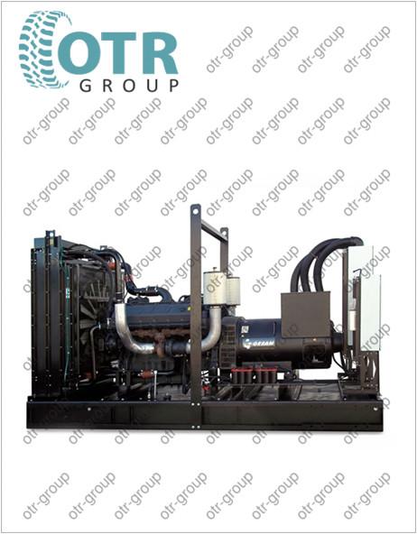 Запчасти на дизельный генератор Gesan DTA 880E