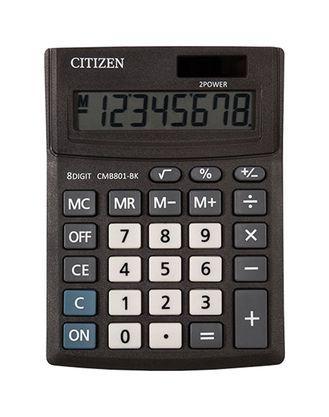 Калькулятор настольный Citizen Business Line CMB801-BK 8-разрядный 137x102x31мм, черный