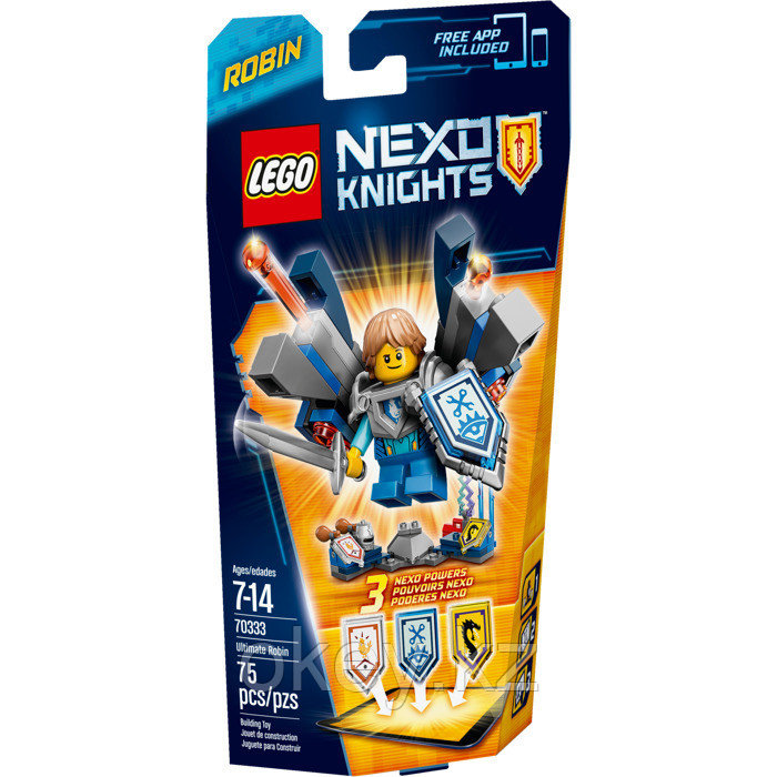 LEGO Nexo Knights: Робин – Абсолютная сила 70333