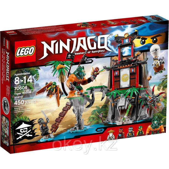 LEGO Ninjago: Остров тигриных вдов 70604