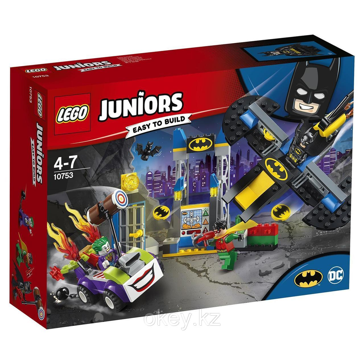 LEGO Juniors: Нападение Джокера на Бэтпещеру 10753
