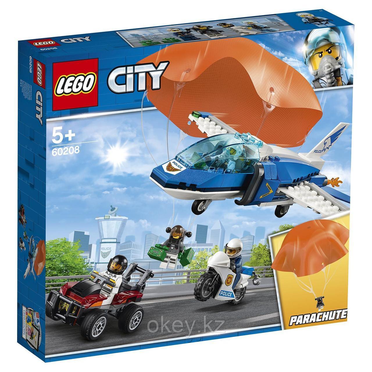 LEGO City: Воздушная полиция: Арест парашютиста 60208
